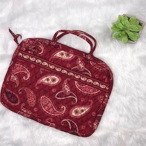Vera Bradley Mesa print laptop bag